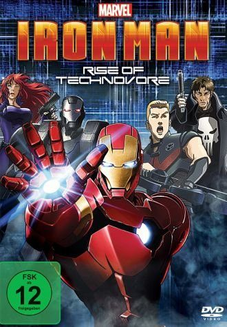 DVD »Iron Man: Rise of Technovore«